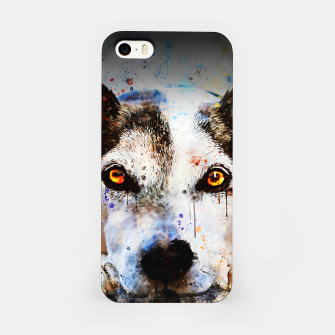 Thumbnail image of lying dog close-up view wsstd iPhone Case, Live Heroes