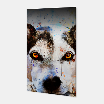 Thumbnail image of lying dog close-up view wsstd Canvas, Live Heroes