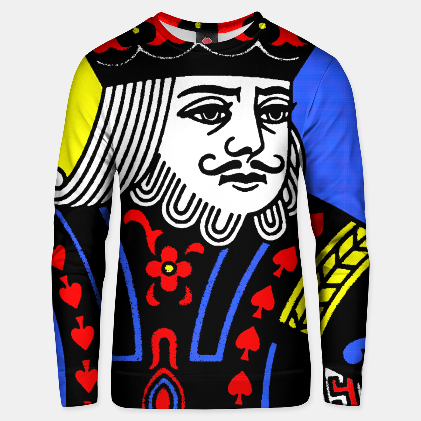 Foto KING OF SPADES COLOURS Unisex sweater - Live Heroes
