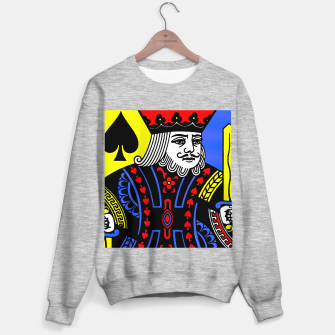 KING OF SPADES COLOURS Sweater regular Bild der Miniatur