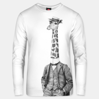 Thumbnail image of High Class Gentleman Unisex sweater, Live Heroes