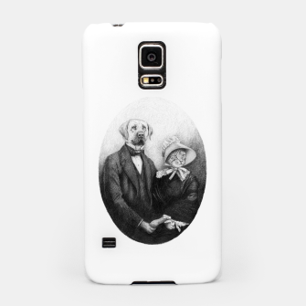 Miniatur Eternal Couple Samsung Case, Live Heroes
