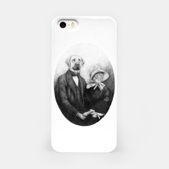 Miniatur Eternal Couple iPhone Case, Live Heroes