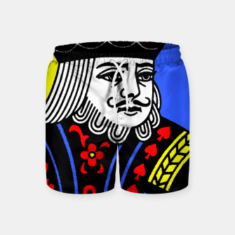KING OF SPADES COLOURS Swim Shorts Bild der Miniatur
