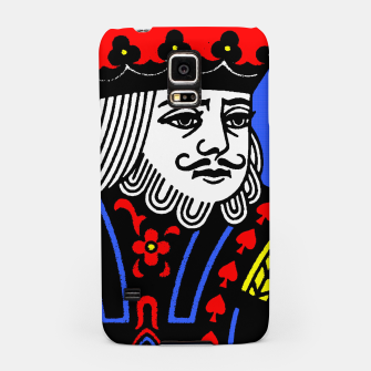 KING OF SPADES COLOURS Samsung Case Bild der Miniatur