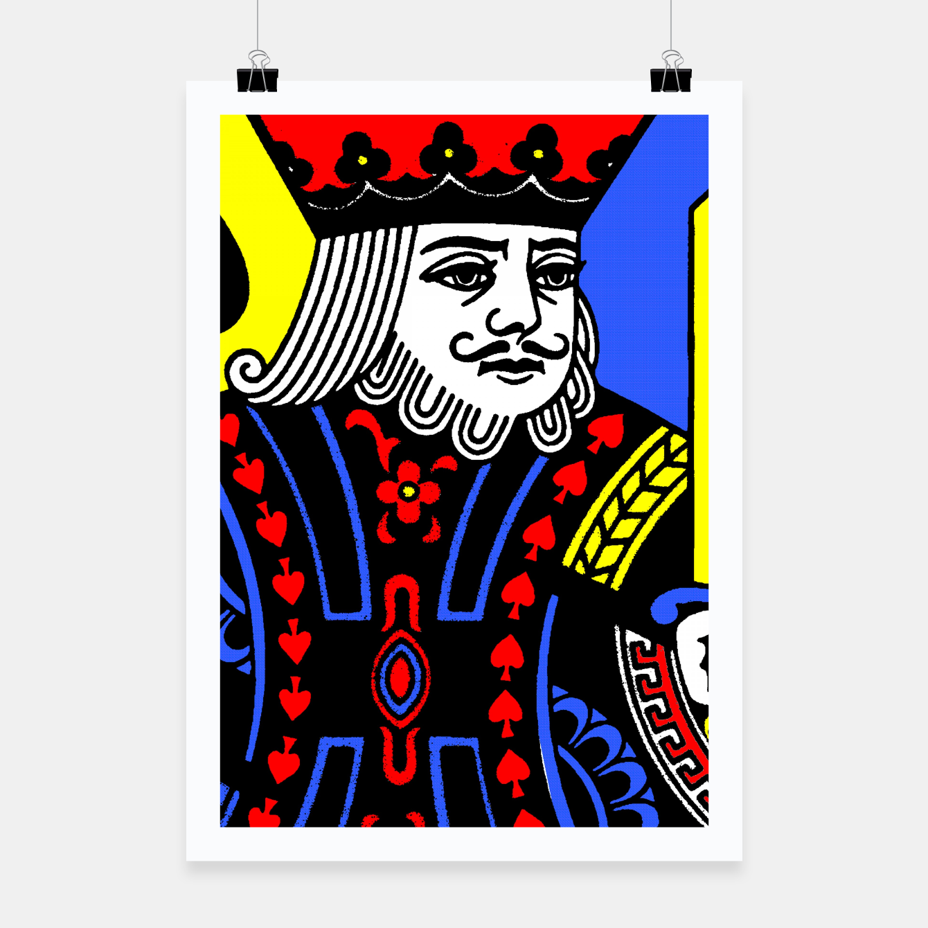 Foto KING OF SPADES COLOURS Poster - Live Heroes