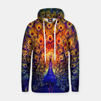 Miniatur Abstract Peacock Hoodie, Live Heroes
