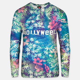Thumbnail image of Hollyweed Unisex sweater, Live Heroes