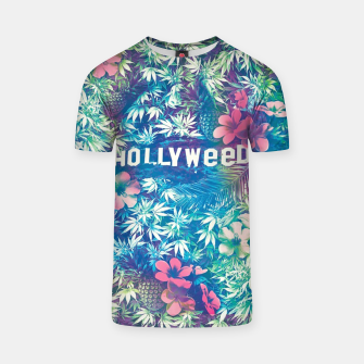 Thumbnail image of Hollyweed T-shirt, Live Heroes