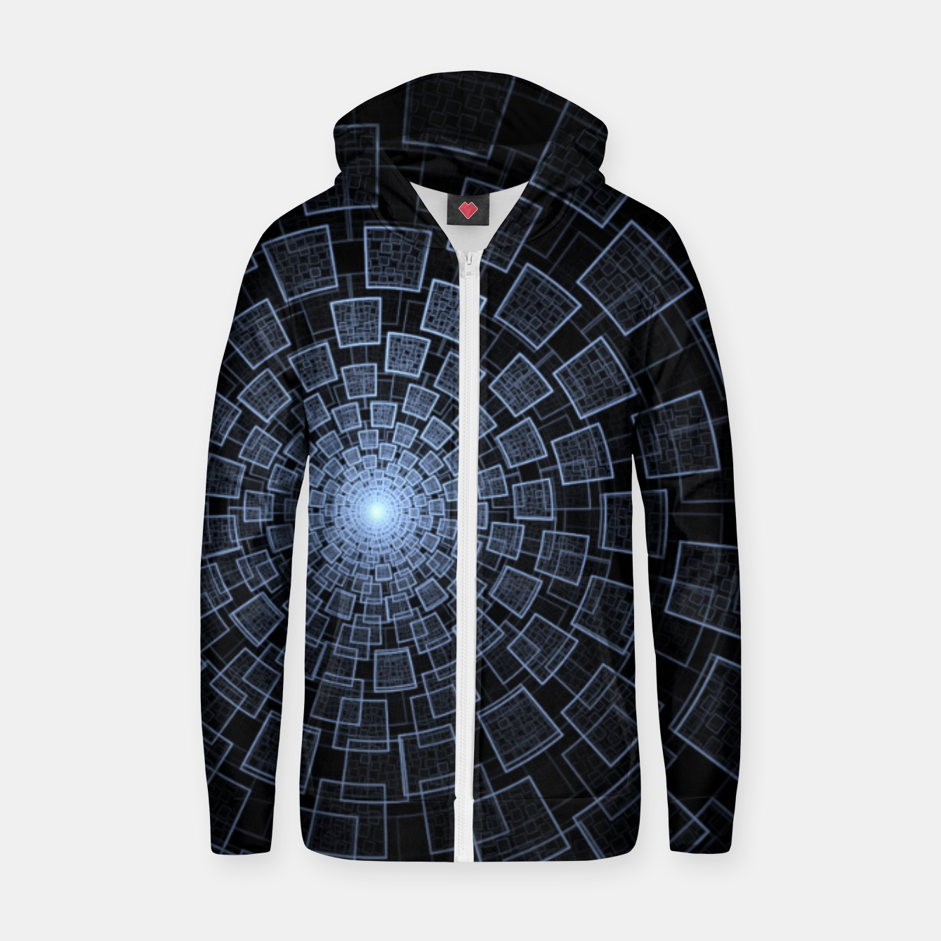 Foto Sacred Geometry Zip up hoodie - Live Heroes
