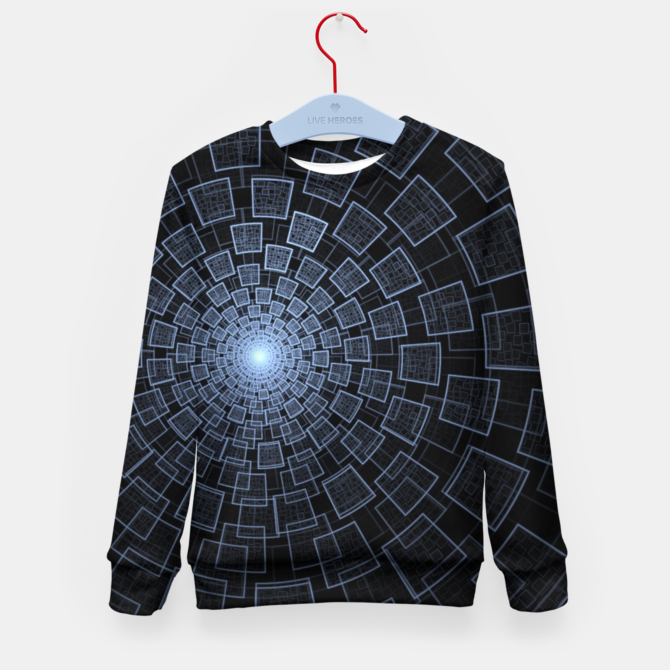 Foto Sacred Geometry Kid's sweater - Live Heroes