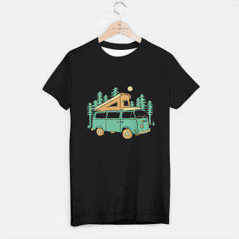 Miniature de image de Go Wilderness T-shirt regular, Live Heroes
