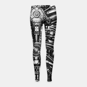 Thumbnail image of The Machine Girl's leggings, Live Heroes