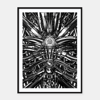 Miniatur The Machine Framed poster, Live Heroes