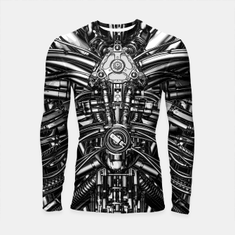 Thumbnail image of The Machine Longsleeve rashguard , Live Heroes