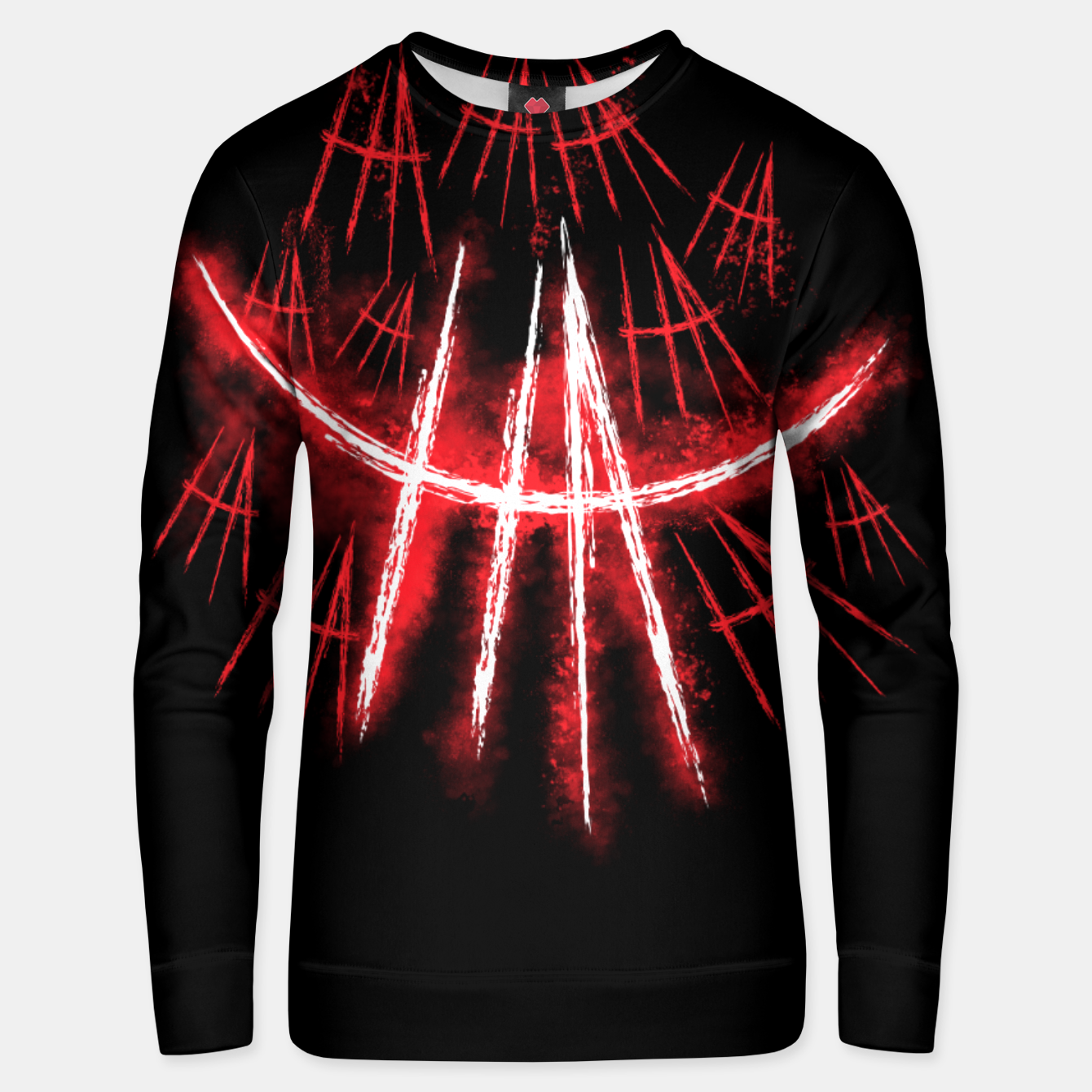 Image of Just Smile Unisex sweater - Live Heroes