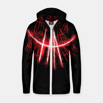 Thumbnail image of Just Smile Zip up hoodie, Live Heroes