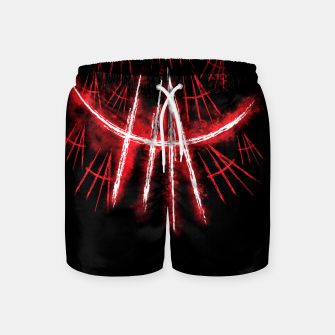Thumbnail image of Just Smile Swim Shorts, Live Heroes