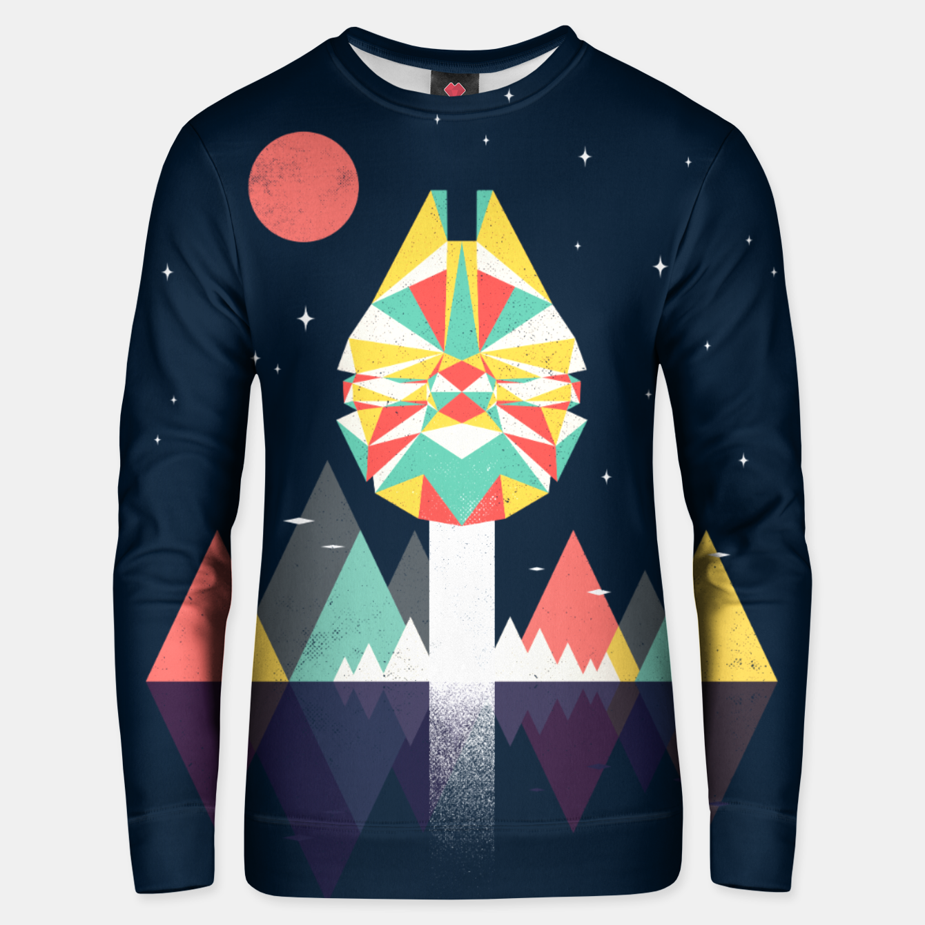 Image of Fast Enough Unisex sweater - Live Heroes