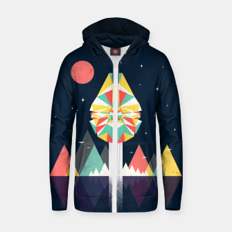 Fast Enough Zip up hoodie thumbnail image