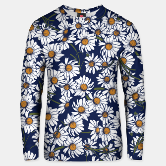 Thumbnail image of Vintage Daisies  Unisex sweater, Live Heroes