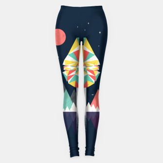 Thumbnail image of Fast Enough Leggings, Live Heroes