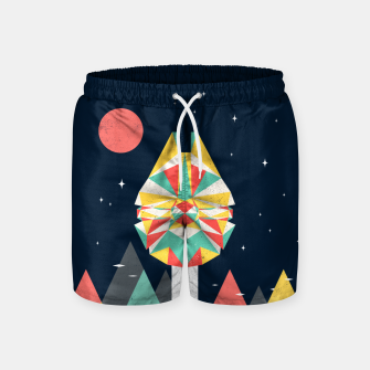 Thumbnail image of Fast Enough Swim Shorts, Live Heroes