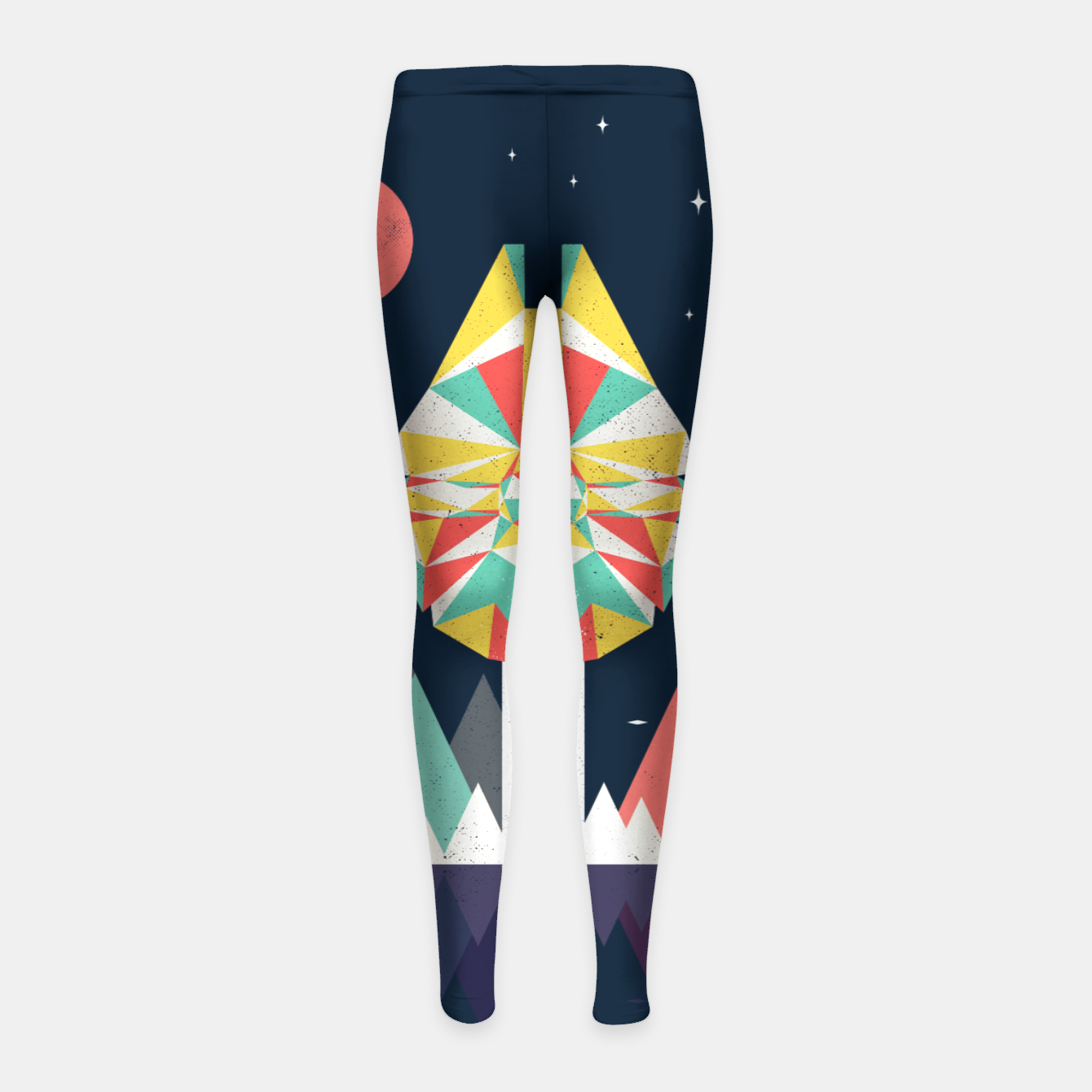 Image of Fast Enough Girl's leggings - Live Heroes
