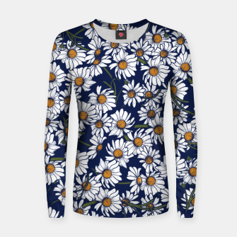 Thumbnail image of Vintage Daisies  Women sweater, Live Heroes