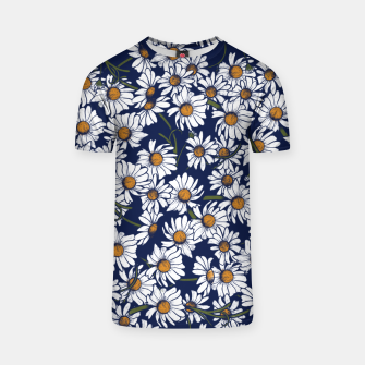 Thumbnail image of Vintage Daisies  T-shirt, Live Heroes