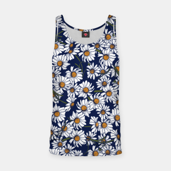 Thumbnail image of Vintage Daisies  Tank Top, Live Heroes