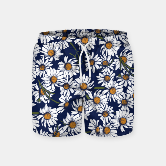 Thumbnail image of Vintage Daisies  Swim Shorts, Live Heroes