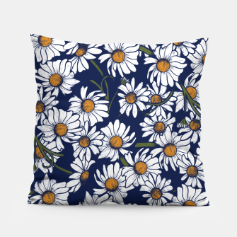 Thumbnail image of Vintage Daisies  Pillow, Live Heroes