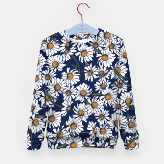 Thumbnail image of Vintage Daisies  Kid's sweater, Live Heroes