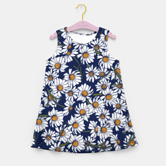 Thumbnail image of Vintage Daisies  Girl's summer dress, Live Heroes