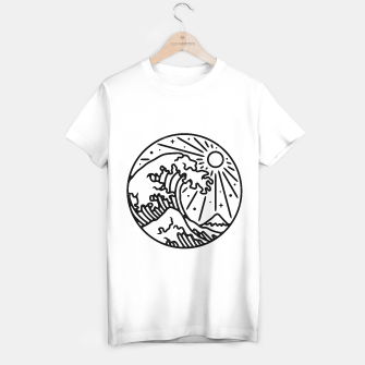 Thumbnail image of The Great Wave T-shirt regular, Live Heroes
