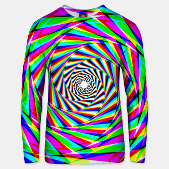Thumbnail image of Psychedelic Spiral Unisex sweater, Live Heroes