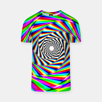 Thumbnail image of Psychedelic Spiral T-shirt, Live Heroes