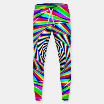 Thumbnail image of Psychedelic Spiral Sweatpants, Live Heroes