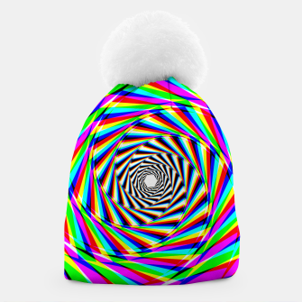 Thumbnail image of Psychedelic Spiral Beanie, Live Heroes