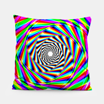 Thumbnail image of Psychedelic Spiral Pillow, Live Heroes