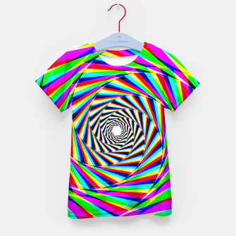 Thumbnail image of Psychedelic Spiral Kid's t-shirt, Live Heroes