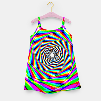 Thumbnail image of Psychedelic Spiral Girl's dress, Live Heroes