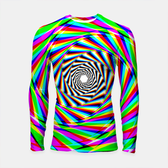 Thumbnail image of Psychedelic Spiral Longsleeve rashguard , Live Heroes