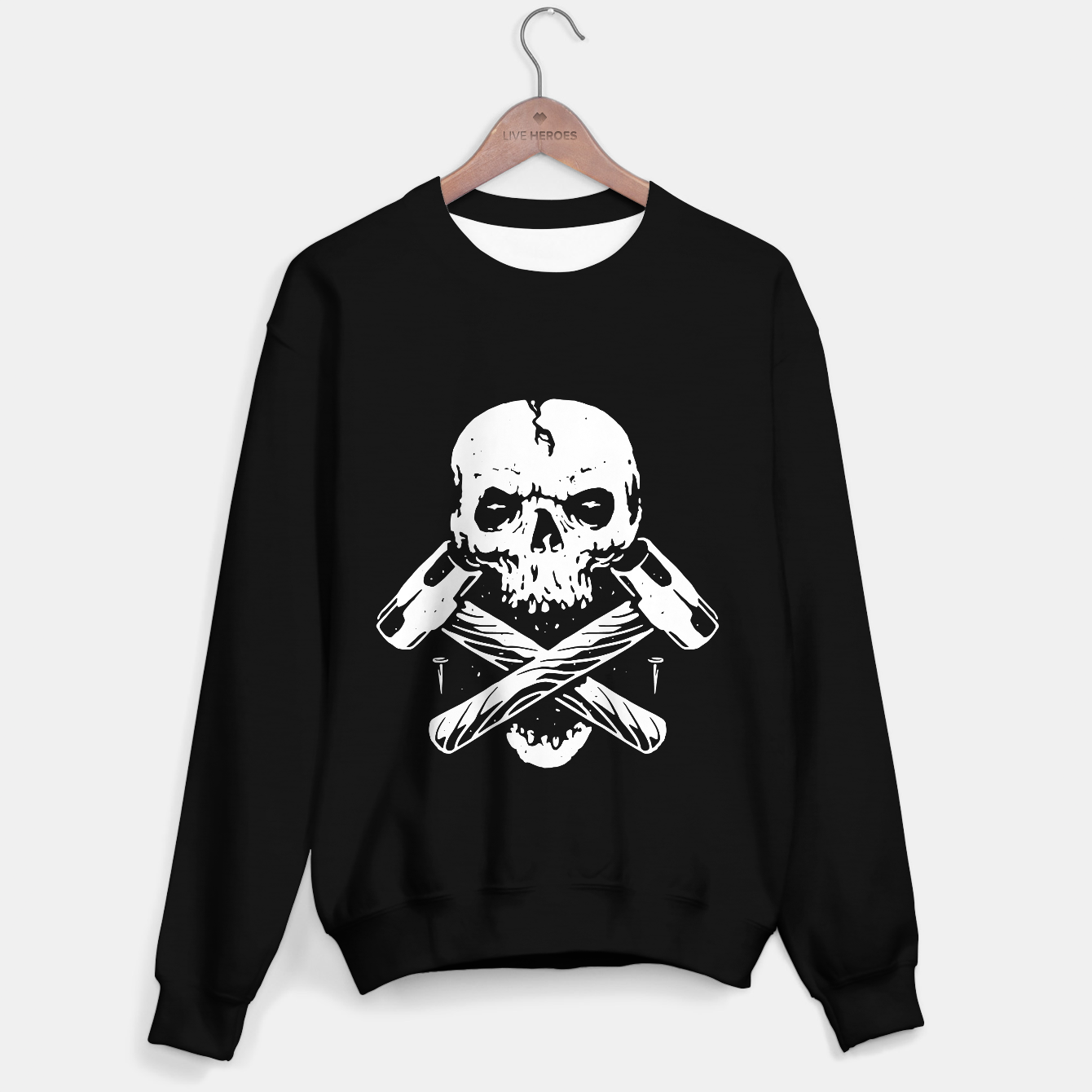Image of Skull Hammer Sweater regular - Live Heroes