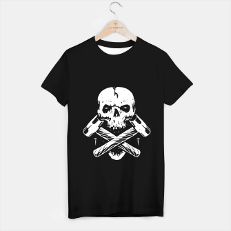 Thumbnail image of Skull Hammer T-shirt regular, Live Heroes