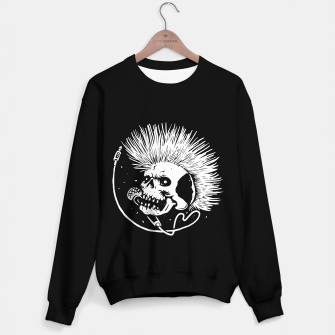 Thumbnail image of Skull Punk Sweater regular, Live Heroes