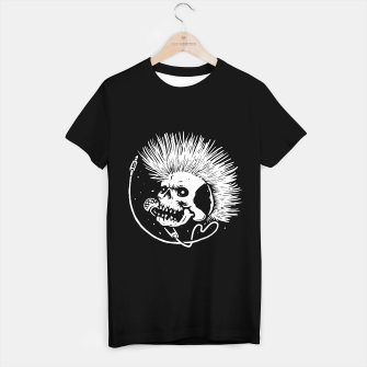 Thumbnail image of Skull Punk T-shirt regular, Live Heroes