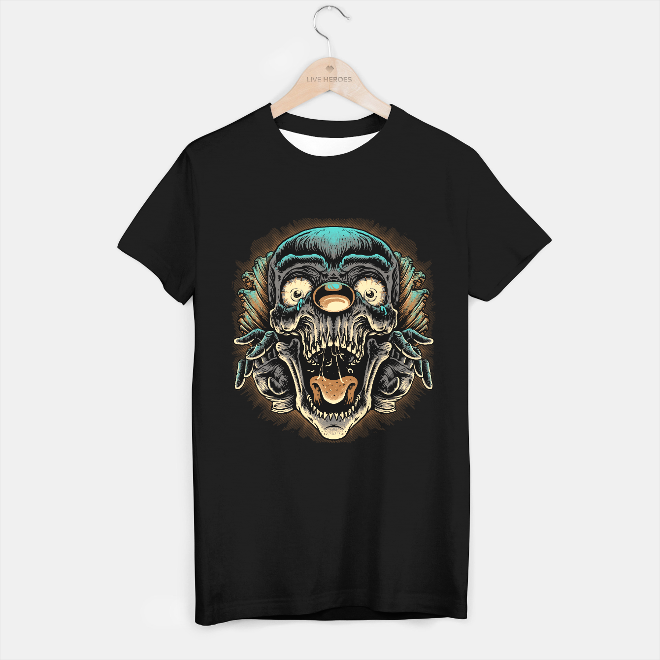 Image de Scary Clown T-shirt regular - Live Heroes