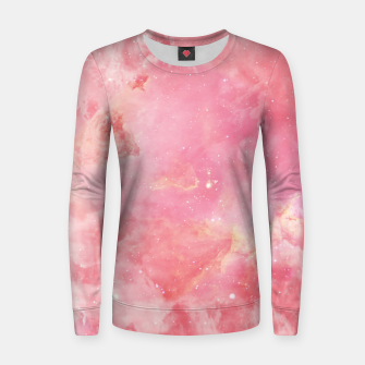 Thumbnail image of Pink clouds Women sweater, Live Heroes